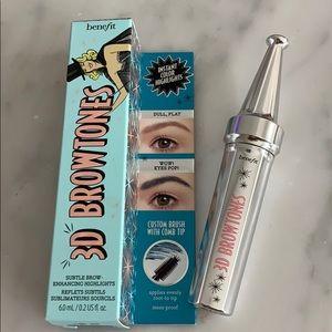 Benefit cosmetics 3D brow tones deep teal